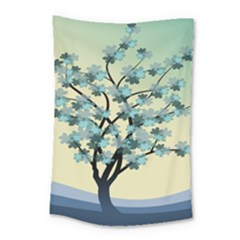 Branches Field Flora Forest Fruits Small Tapestry by Nexatart