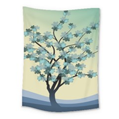 Branches Field Flora Forest Fruits Medium Tapestry