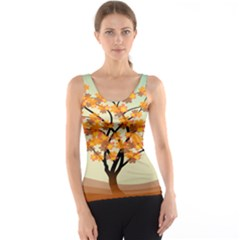 Branches Field Flora Forest Fruits Tank Top