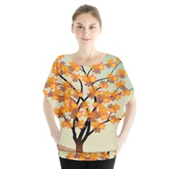 Branches Field Flora Forest Fruits Blouse