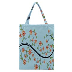 Branch Floral Flourish Flower Classic Tote Bag