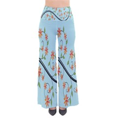 Branch Floral Flourish Flower Pants