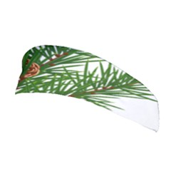 Branch Floral Green Nature Pine Stretchable Headband