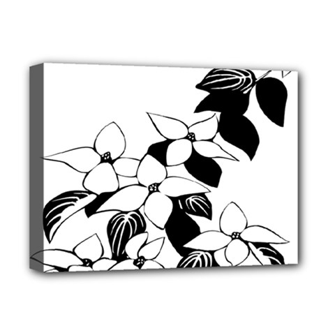 Ecological Floral Flowers Leaf Deluxe Canvas 16  X 12