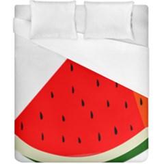 Fruit Harvest Slice Summer Duvet Cover (california King Size)