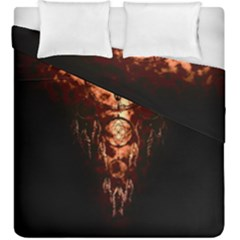 Black Background Duvet Cover Double Side (king Size) by RespawnLARPer