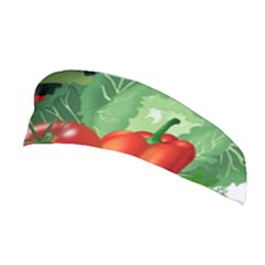 Fruits Vegetables Artichoke Banana Stretchable Headband