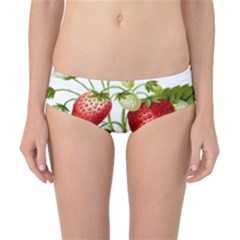 Food Fruit Leaf Leafy Leaves Classic Bikini Bottoms