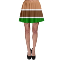 Hamburger Fast Food A Sandwich Skater Skirt by Nexatart