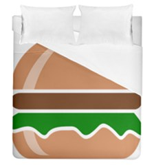 Hamburger Fast Food A Sandwich Duvet Cover (queen Size)