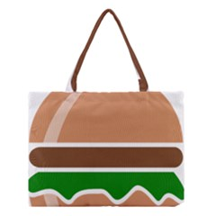 Hamburger Fast Food A Sandwich Medium Tote Bag