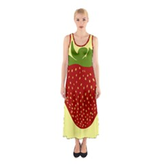 Nature Deserts Objects Isolated Sleeveless Maxi Dress
