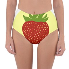 Nature Deserts Objects Isolated Reversible High Waist Bikini Bottoms