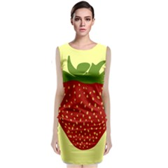 Nature Deserts Objects Isolated Classic Sleeveless Midi Dress