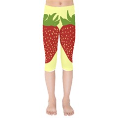 Nature Deserts Objects Isolated Kids  Capri Leggings