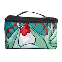 Pie Turkey Eating Fork Knife Hat Cosmetic Storage Case by Nexatart