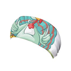 Pie Turkey Eating Fork Knife Hat Yoga Headband by Nexatart