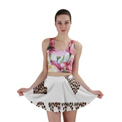 Love Heart Romance Passion Mini Skirt by Nexatart