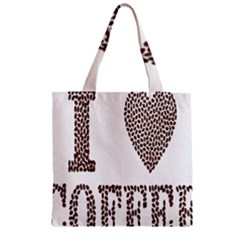 Love Heart Romance Passion Zipper Grocery Tote Bag