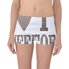 Love Heart Romance Passion Reversible Boyleg Bikini Bottoms