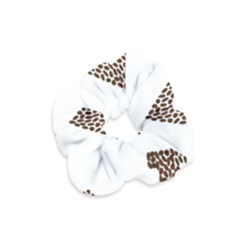Love Heart Romance Passion Velvet Scrunchie