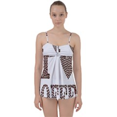 Love Heart Romance Passion Babydoll Tankini Set by Nexatart