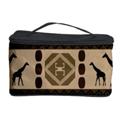 Giraffe African Vector Pattern Cosmetic Storage Case