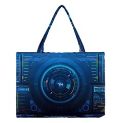 Technology Dashboard Medium Tote Bag