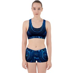 Technology Dashboard Work It Out Sports Bra Set