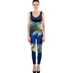 Marine Fishes Onepiece Catsuit