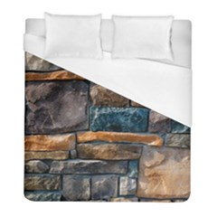 Brick Wall Pattern Duvet Cover (full/ Double Size)