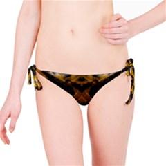 Textures Snake Skin Patterns Bikini Bottom