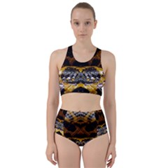 Textures Snake Skin Patterns Bikini Swimsuit Spa Swimsuit