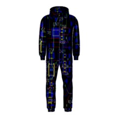 Technology Circuit Board Layout Hooded Jumpsuit (kids) by BangZart
