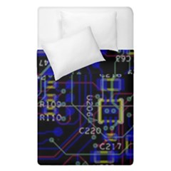 Technology Circuit Board Layout Duvet Cover Double Side (single Size)