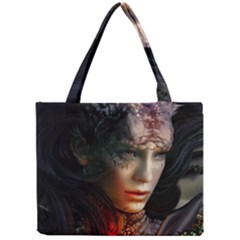Digital Fantasy Girl Art Mini Tote Bag