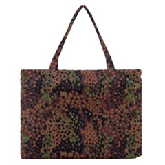 Digital Camouflage Medium Zipper Tote Bag