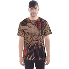 Chinese Dragon Men s Sports Mesh Tee