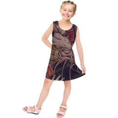 Chinese Dragon Kids  Tunic Dress