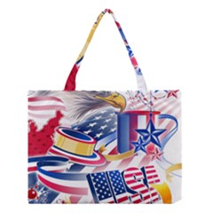 United States Of America Usa  Images Independence Day Medium Tote Bag
