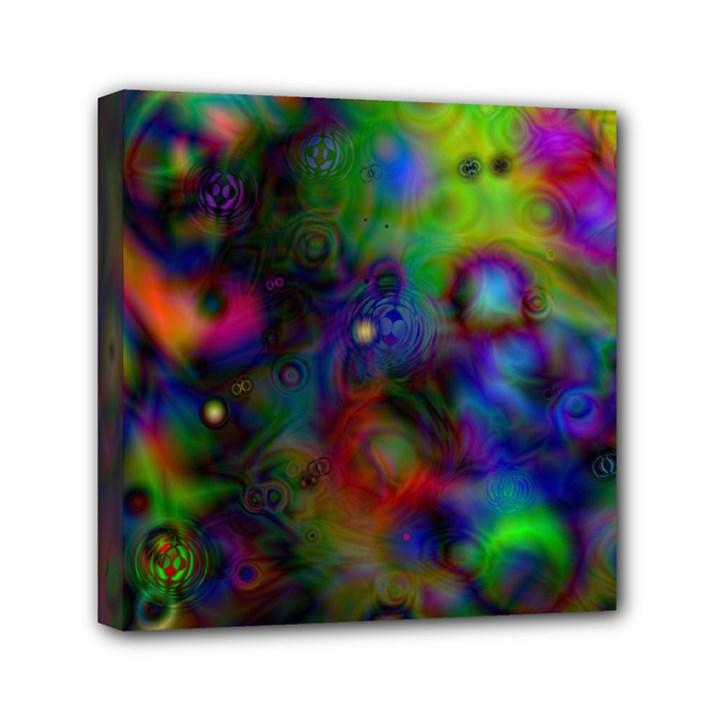 Full Colors Mini Canvas 6  x 6