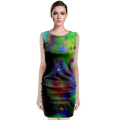 Full Colors Classic Sleeveless Midi Dress