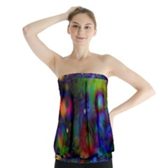 Full Colors Strapless Top