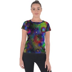 Full Colors Short Sleeve Sports Top