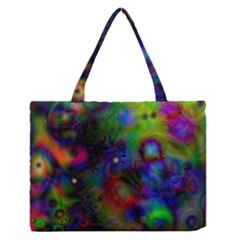 Full Colors Medium Zipper Tote Bag
