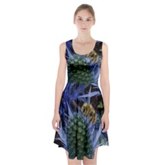 Chihuly Garden Bumble Racerback Midi Dress