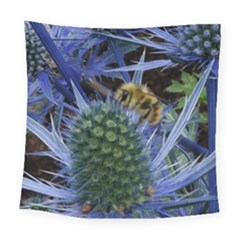 Chihuly Garden Bumble Square Tapestry (large)