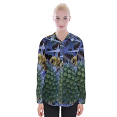 Chihuly Garden Bumble Womens Long Sleeve Shirt