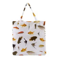 Goldfish Grocery Tote Bag by BangZart