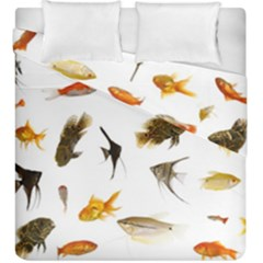 Goldfish Duvet Cover Double Side (king Size) by BangZart